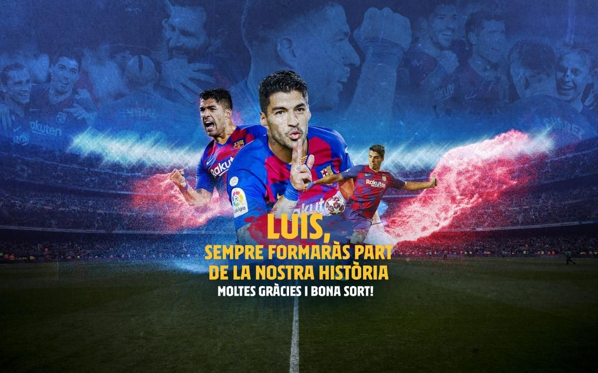 Acord amb l'Atlètic de Madrid per al traspàs de Luis Suárez