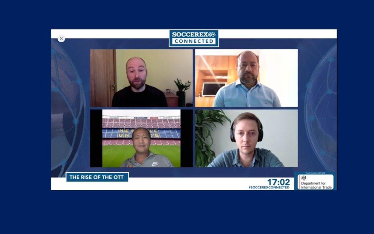 Dídac Lee tells Soccerex about the Barça TV+ project