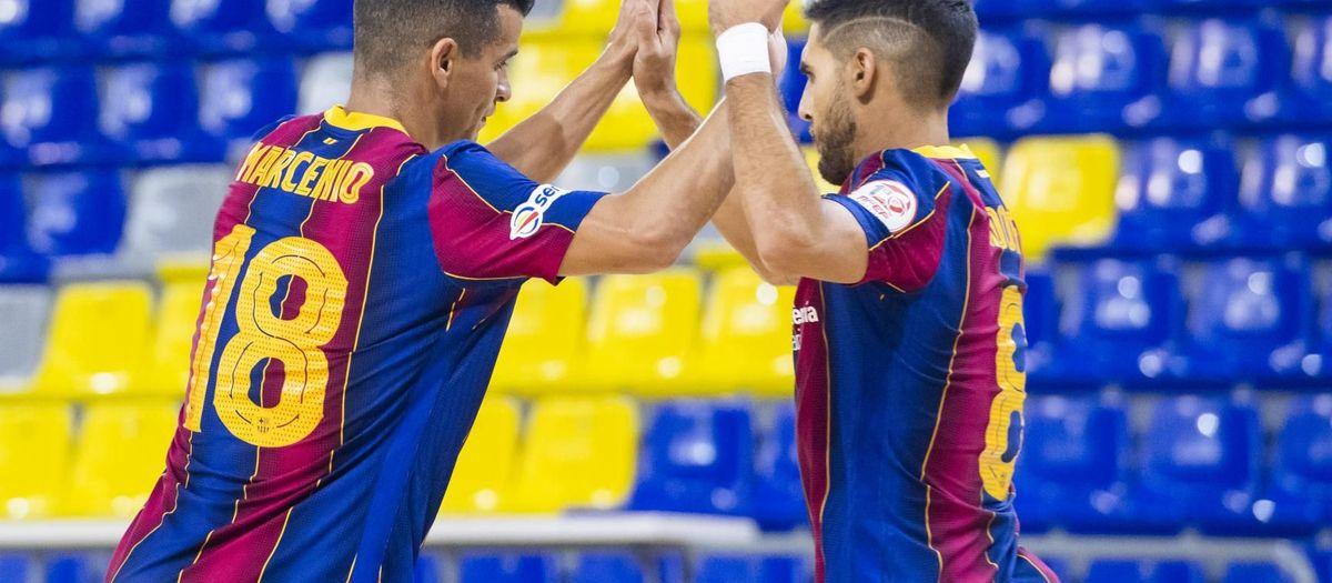 Barça 6-2 Fútbol Emotion Zaragoza: Blaugrana monologue