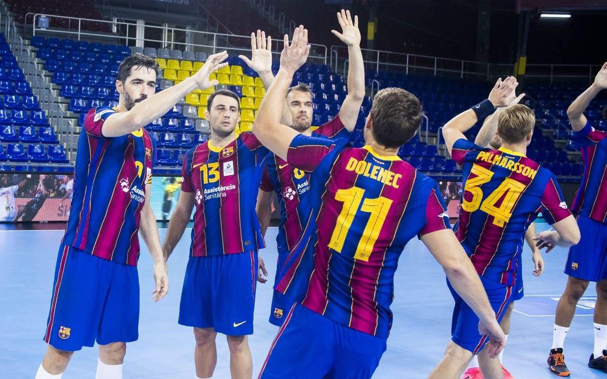 Barça - Celje Pivovarna Lasko: La emoción de la Champions vuelve al Palau