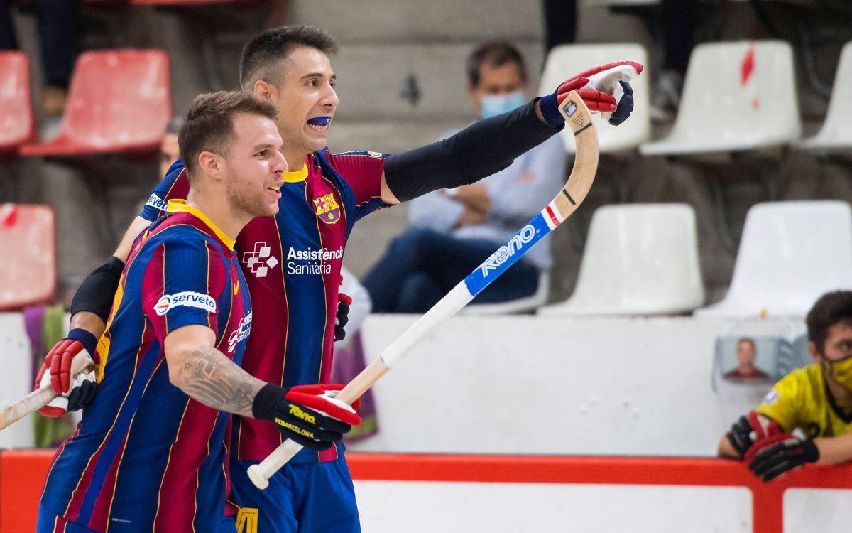 ¡Los cinco mejores goles del Barça en la Liga Catalana!