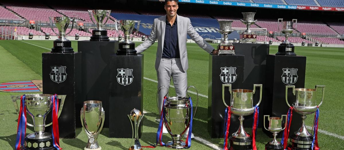 Suárez: 'I'm proud to have been part of the history of the club'
