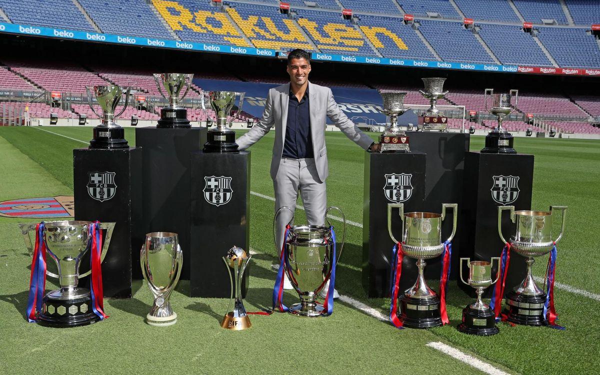 """Suárez: """"Me voy orgulloso, he entrado en la historia del Club"""""""