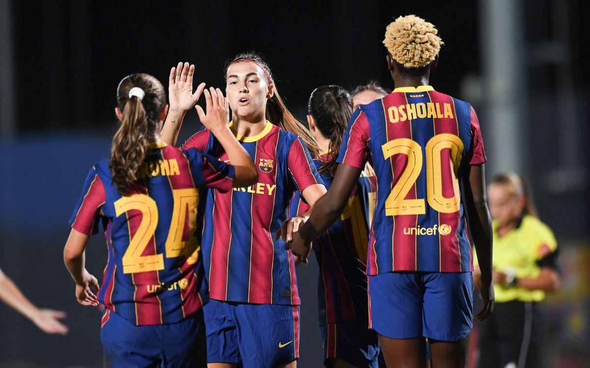 Barça Women v AEM Lleida: Fabulous five-goal win
