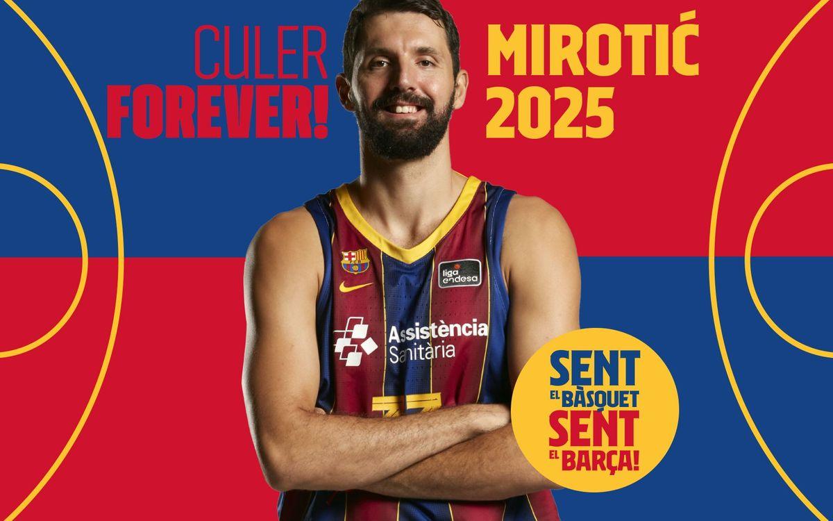 Nikola Mirotic staying until 2025