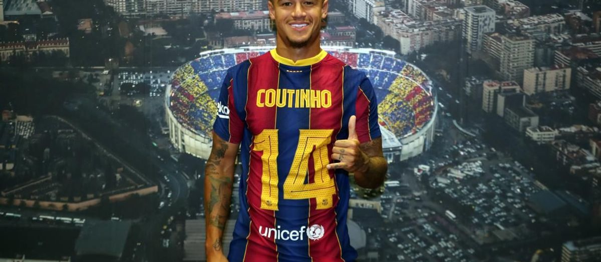 Coutinho reclaims number 14 shirt