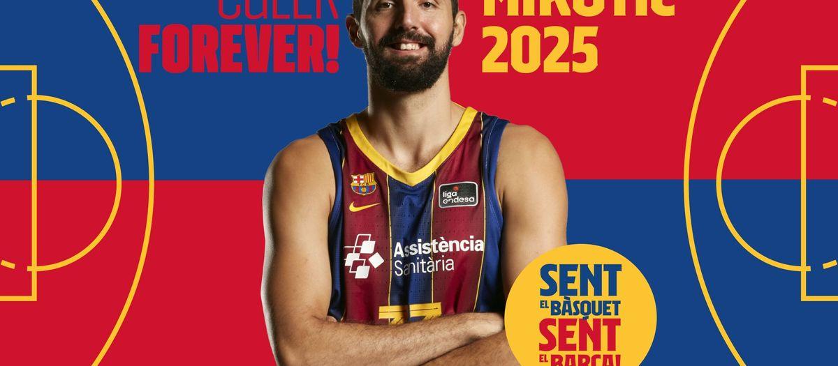 Nikola Mirotic, culer fins al 2025