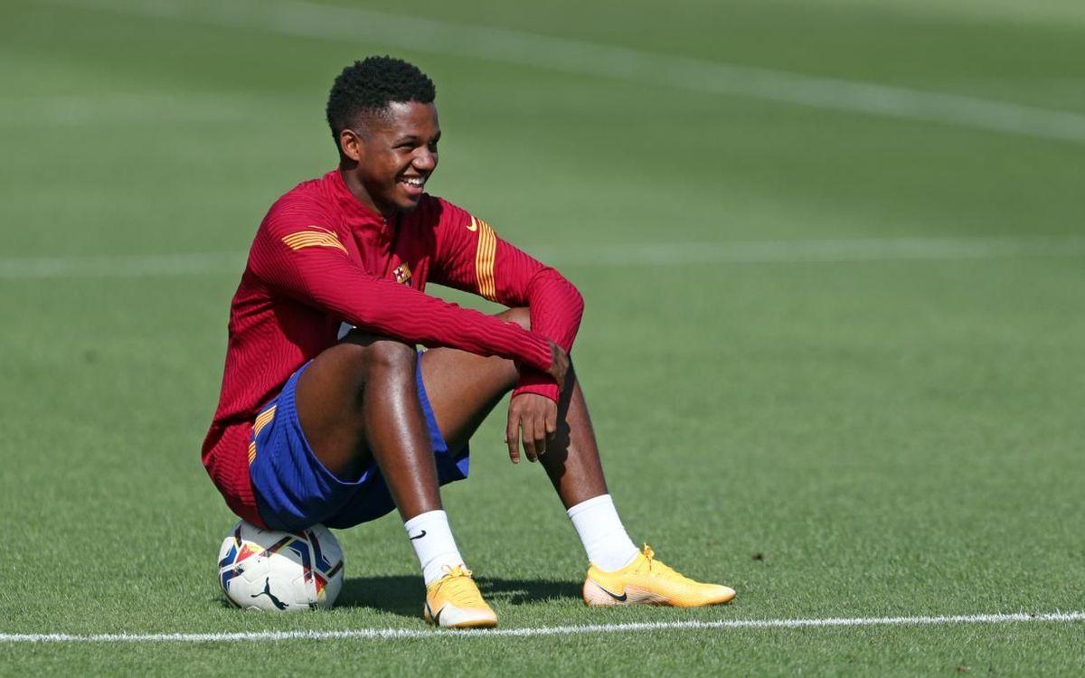 Continúa la preparación antes del Villarreal
