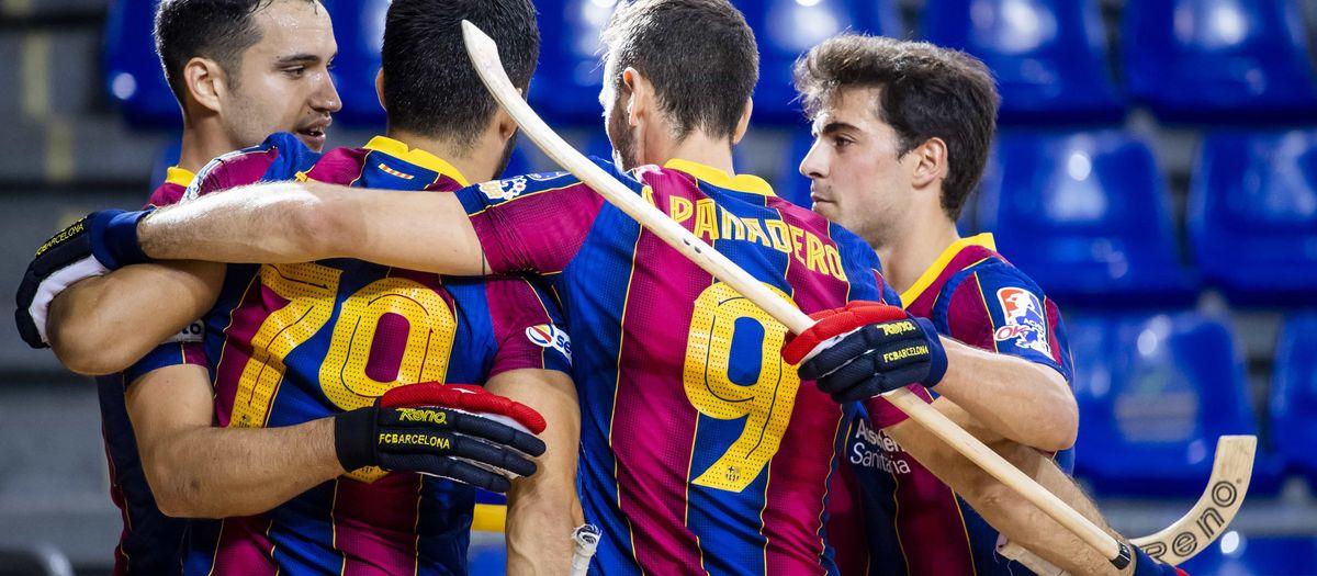 Barça 7-0 Palafrugell: Flying start