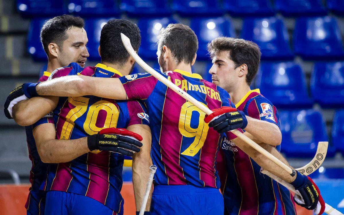 Barça - Palafrugell: Nova OK Lliga, vell costum (7-0)