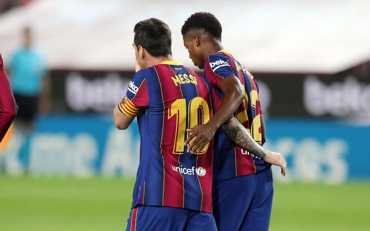 La prèvia del Barça-Betis: Els tres punts entre cella i cella
