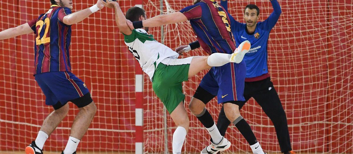 Barça B – Handbol Bordils (33-28): Debut i victòria