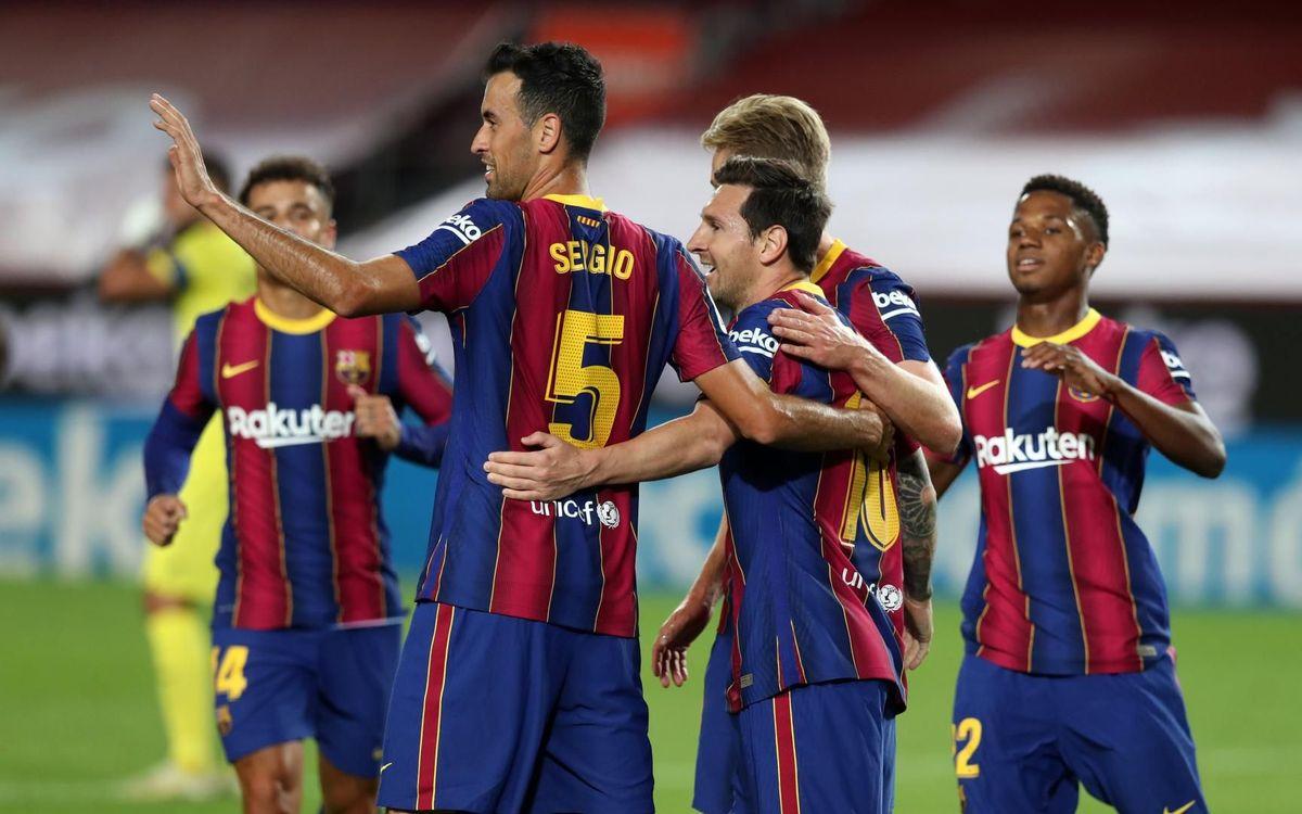 Barça - Ferencváros: ¡Se levanta el telón de la Champions!