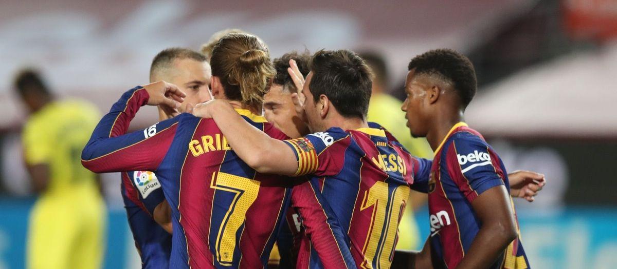 FC Barcelona v Villarreal: Four-midable (4-0)