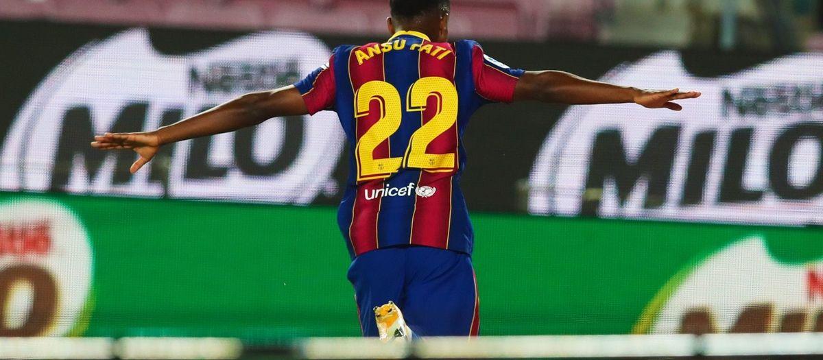 Ansu Fati, l''MVP' del debut a la Lliga 20/21
