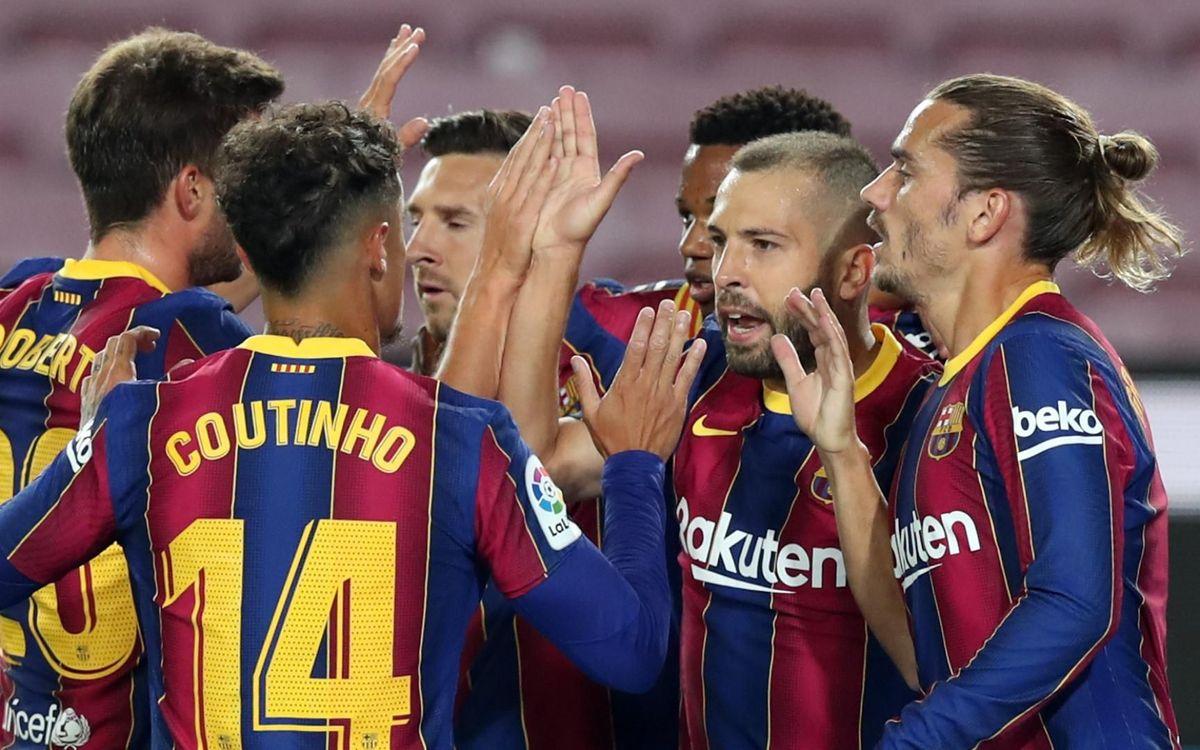 Les joueurs du Barça inscrits en Ligue des Champions 2020/21