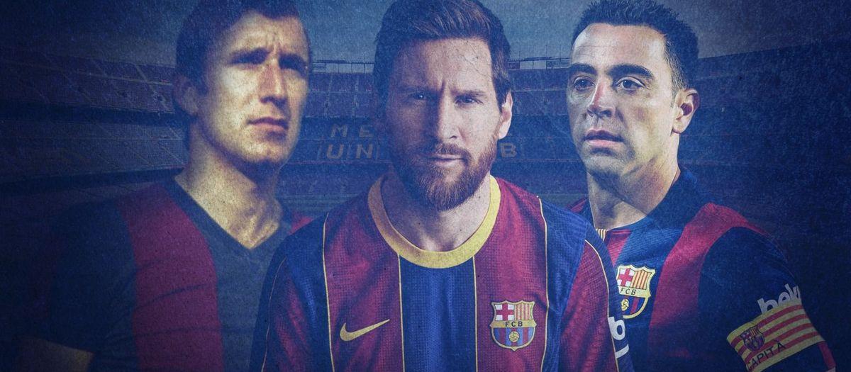 La estadística que comparten Messi, Xavi y Rexach