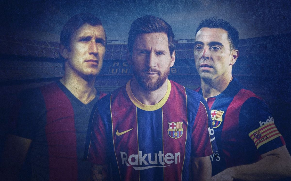 What do Charly Rexach, Xavi and Messi have in common?