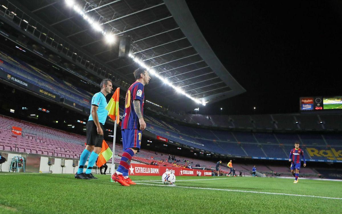 Cuatro partidos seguidos en el Camp Nou