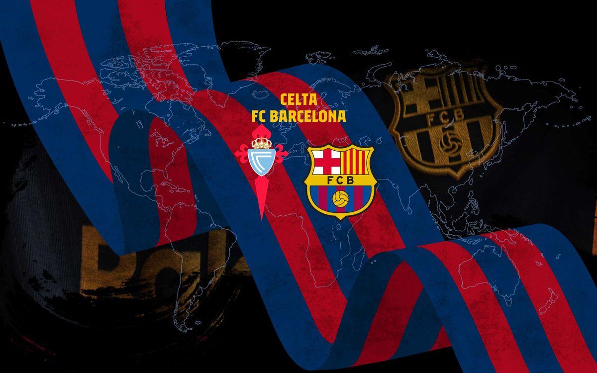 RCセルタ - FC バルセロナ戦、いつ、どこで見る?