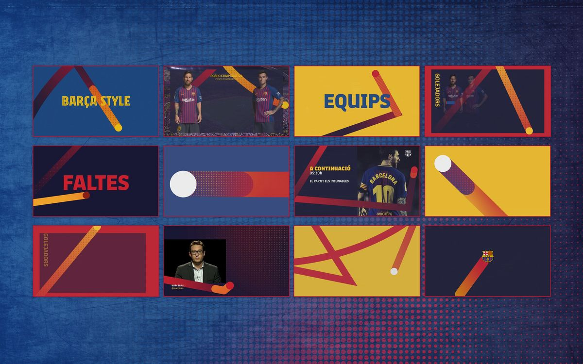 Barça wins one of the prestigious Promax Europe Awards 2020 for its innovative audiovisual identity