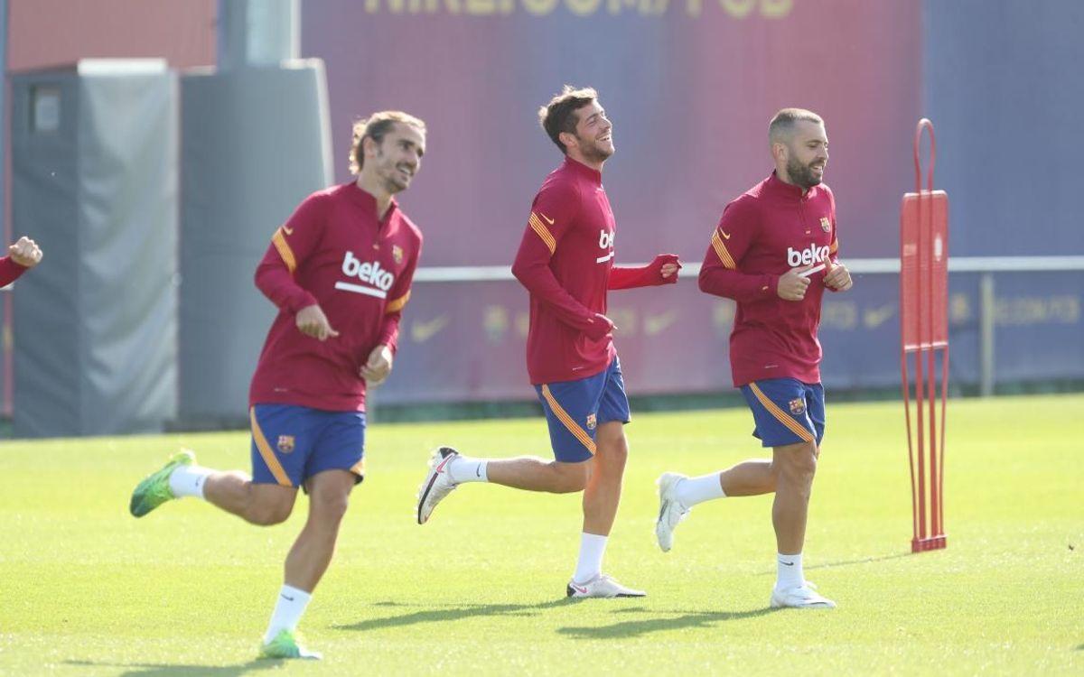 Le groupe du Barça convoqué face au Celta