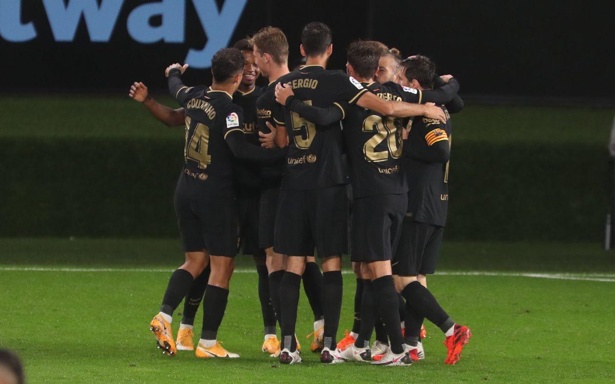 マッチレポート:セルターバルサ(0-3)