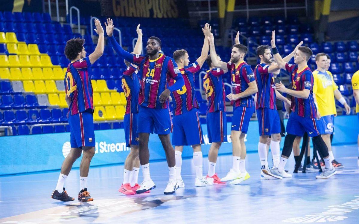 HBC Nantes - Barça: Prueba exigente y conocida en Francia