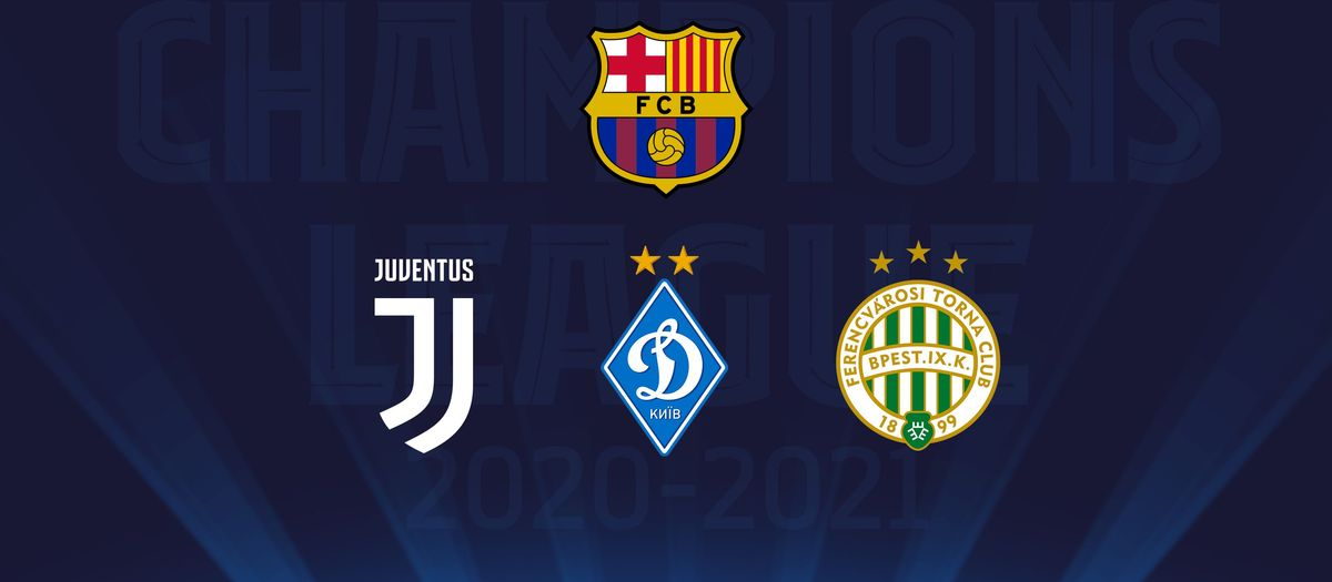 Juventus, Dynamo Kyiv and Ferencváros in Champions League group stage