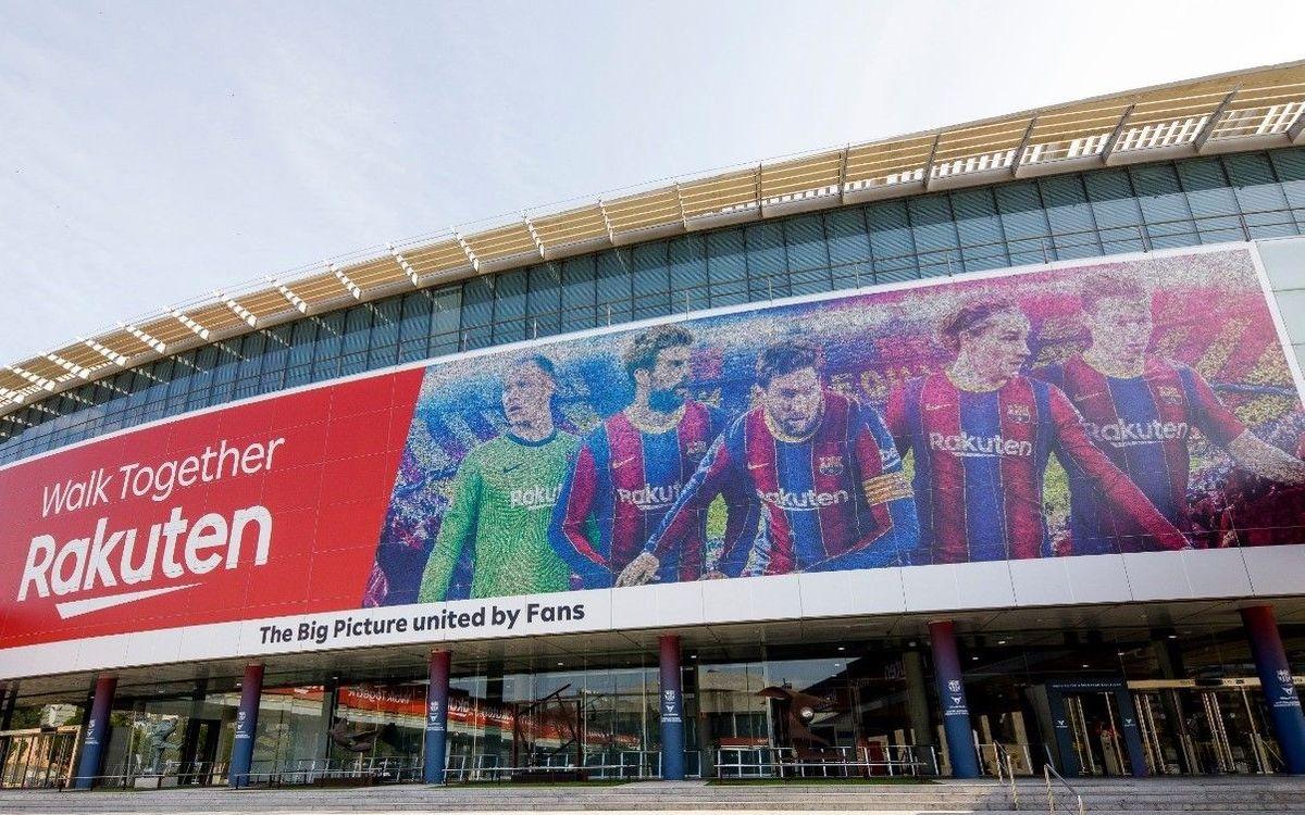 Nou mosaic del Camp Nou