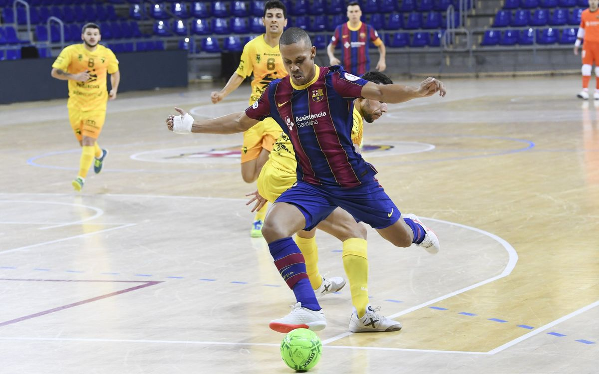 Barça 3-4 Peñíscola: A lack of accuracy hurts Barça