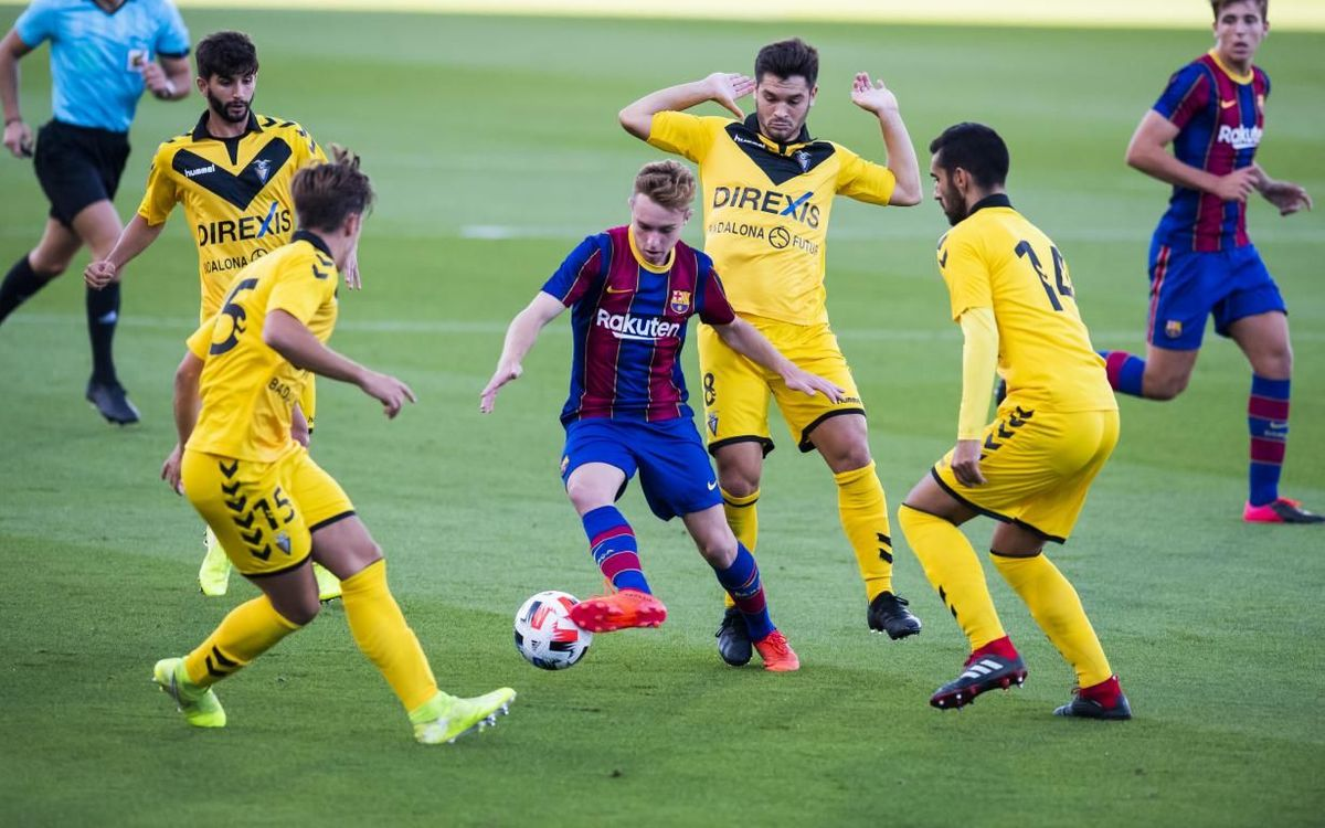 Barça B 0-0 Badalona: Draw on return to the Johan Cruyff