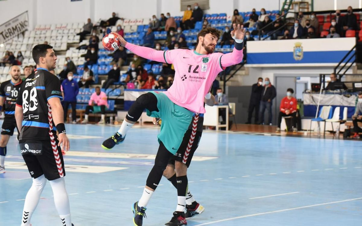 Liberbank Cantabria Sinfín 20-33 Barça: The leaders keep on winning