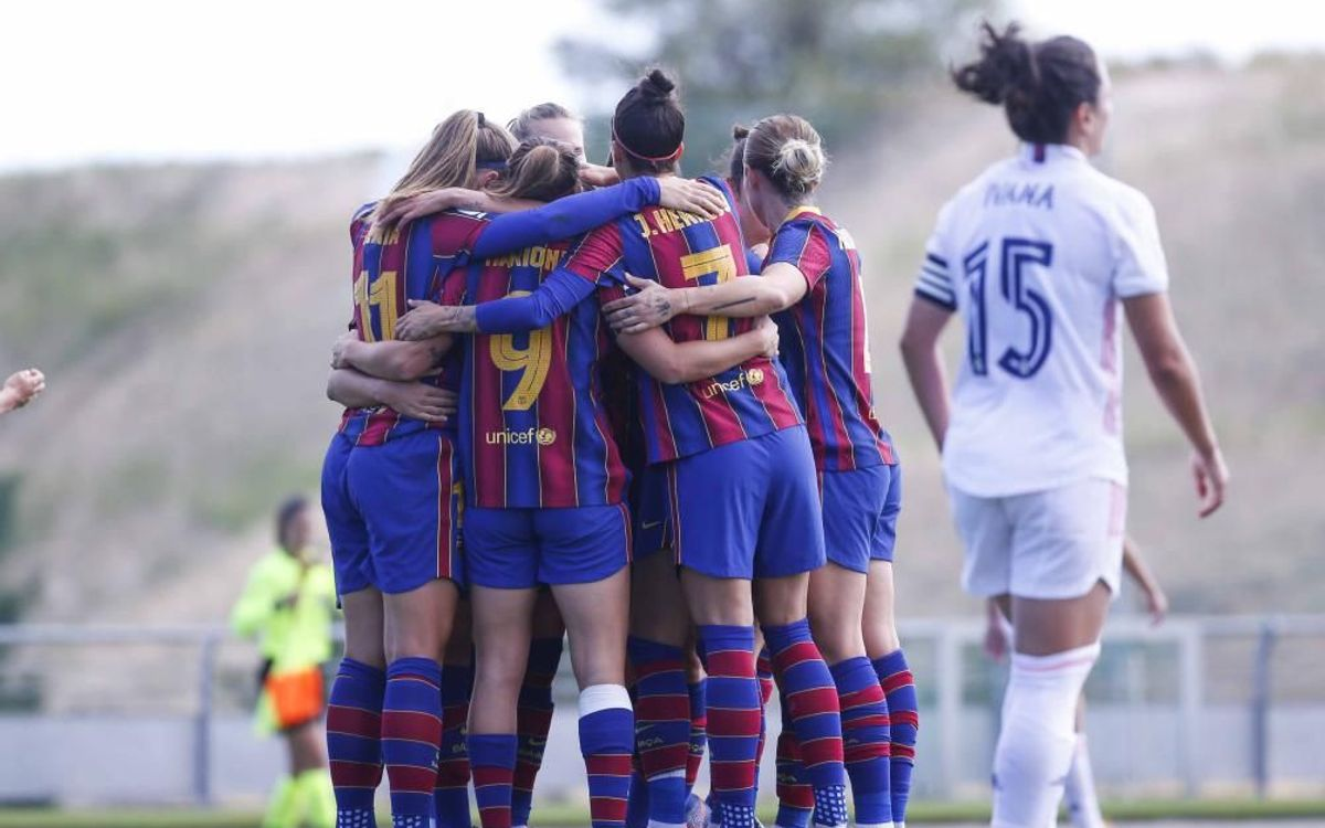 Real Madrid v Barça Women: The first Clásico is blaugrana (0-4)