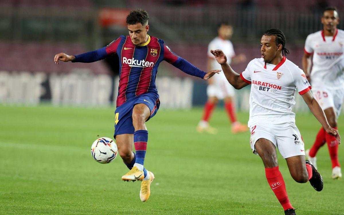 Barça - Séville : Partage de points entre cadors (1-1)