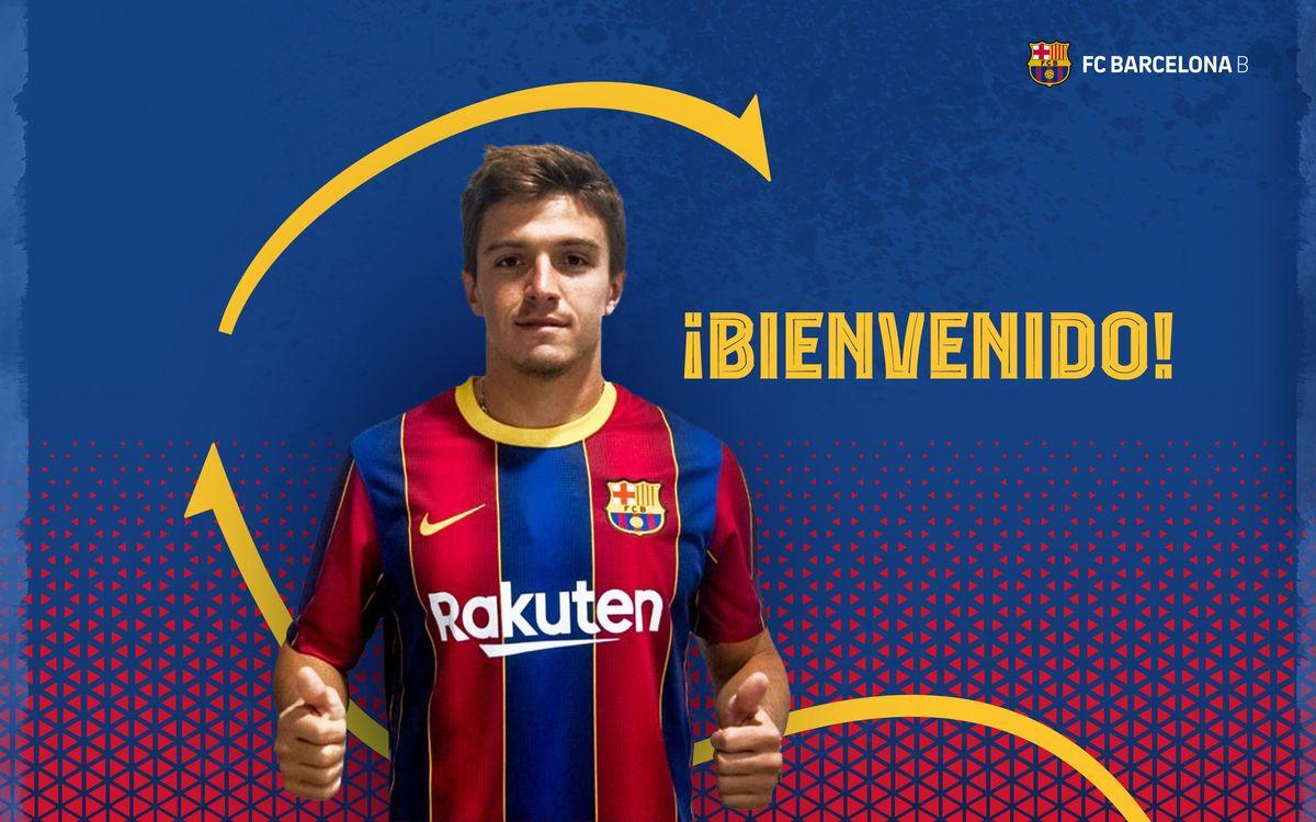 Zeballos llega cedido al Barça B