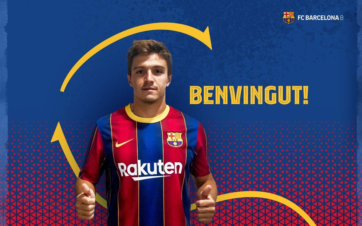 Zeballos joins Barça B on loan