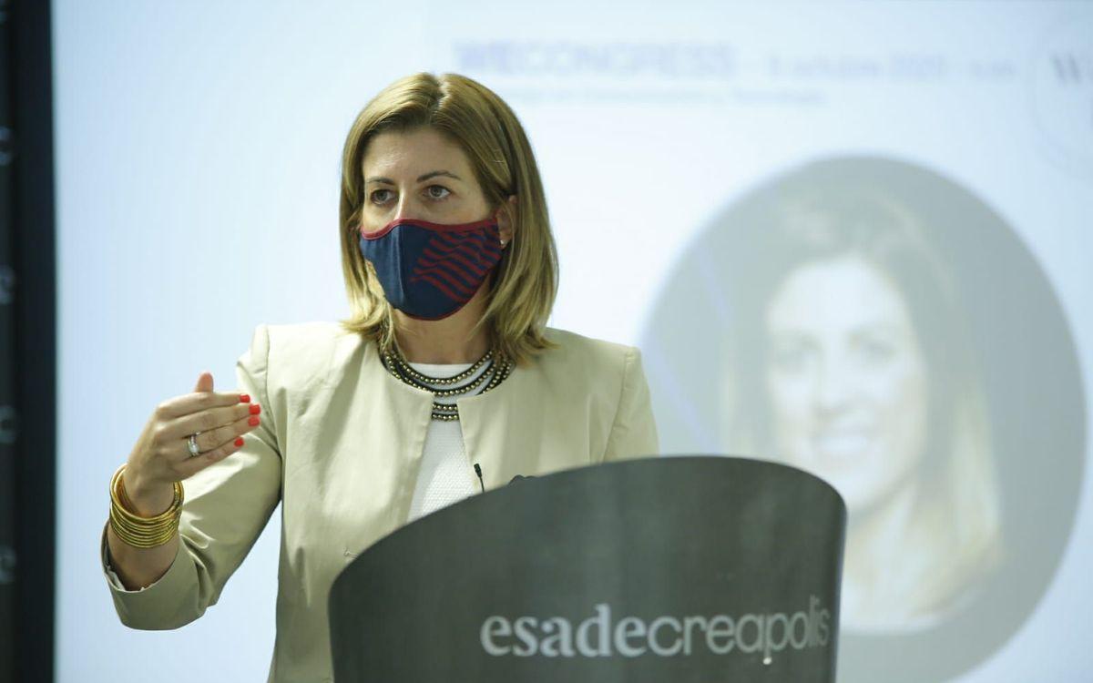 Marta Plana explica el Barça Innovation Hub en el Women Evolution 2020
