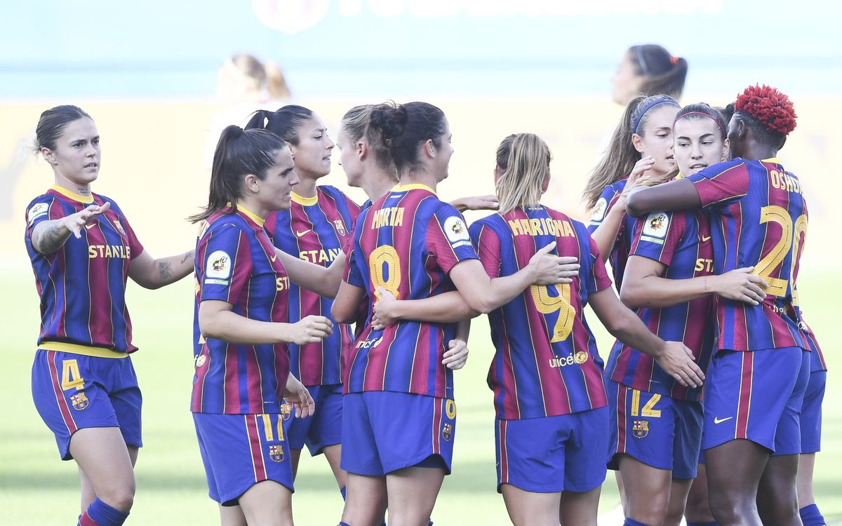 Barça Women go through to Copa final