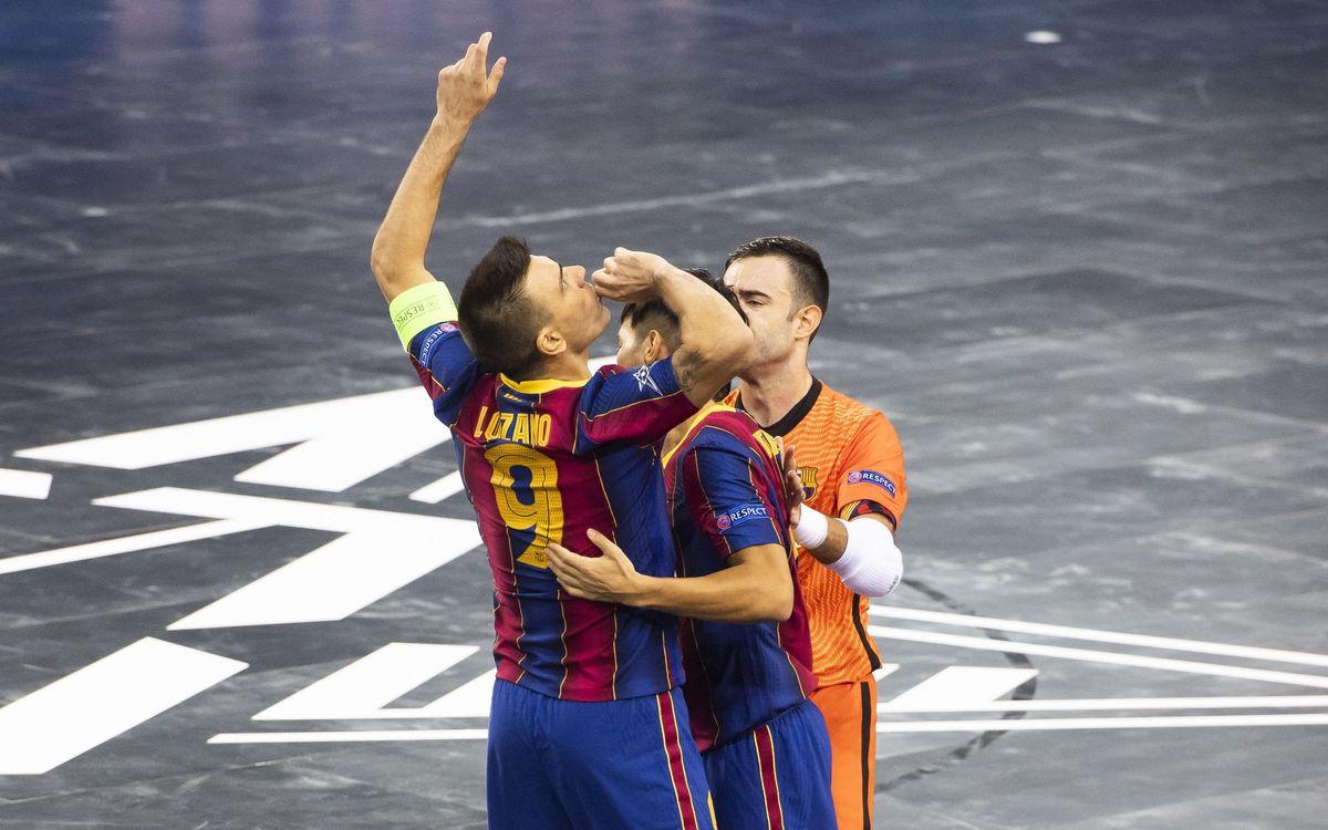 Barça - KPRF: ¡Con suspense, a la final! (3-3) (penaltis, 5-4)