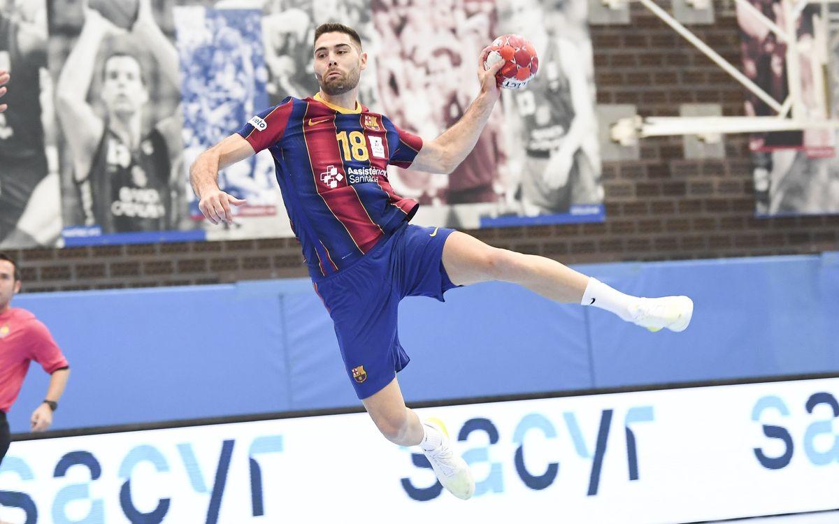 Barça 50-24 Recoletas Atl. Valladolid: Massive win at the Ciutat Esportiva