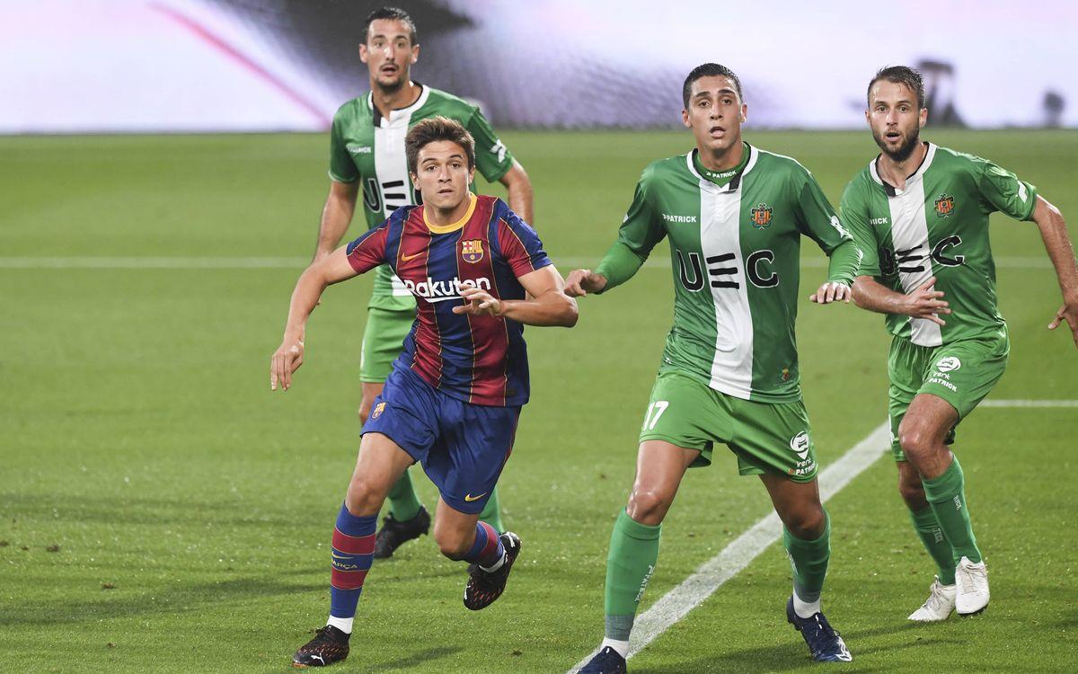Barça B 0-1 Cornellà: Preseason ends with defeat