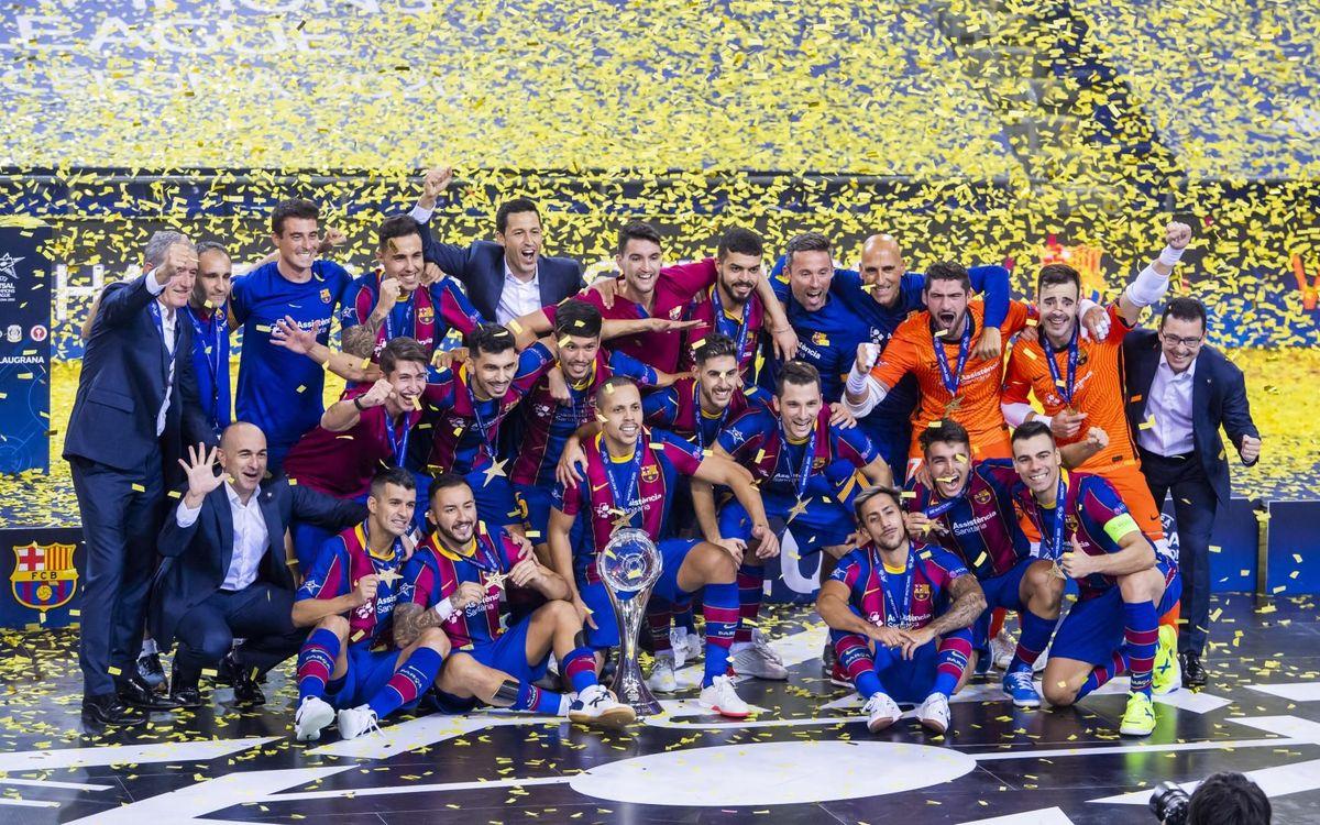 ¡Campeones de la UEFA Futsal Champions League!