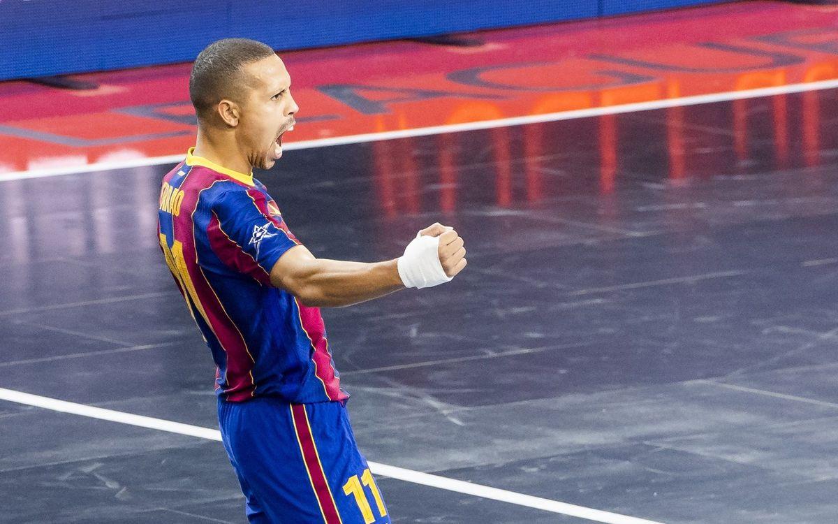 Barça - ElPozo: ¡Campeones de la ansiada Champions! (2-1)