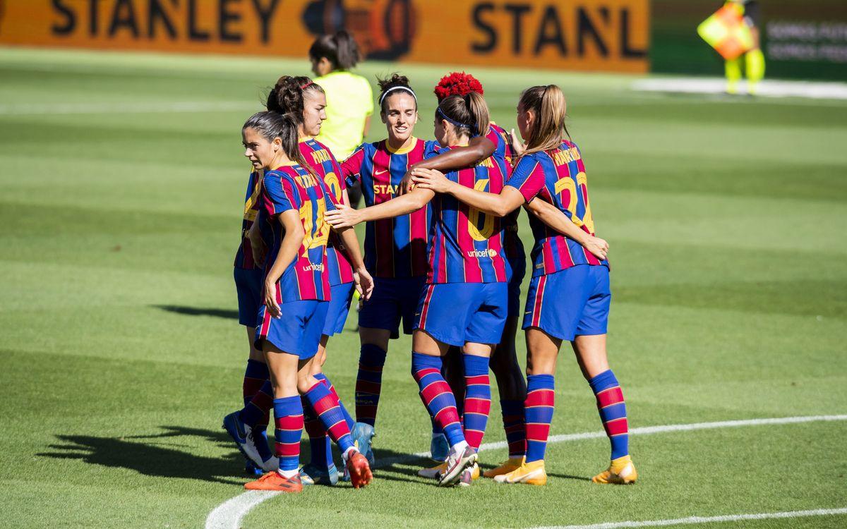 Barça Women v Logroño: A thumping victory (6-0)