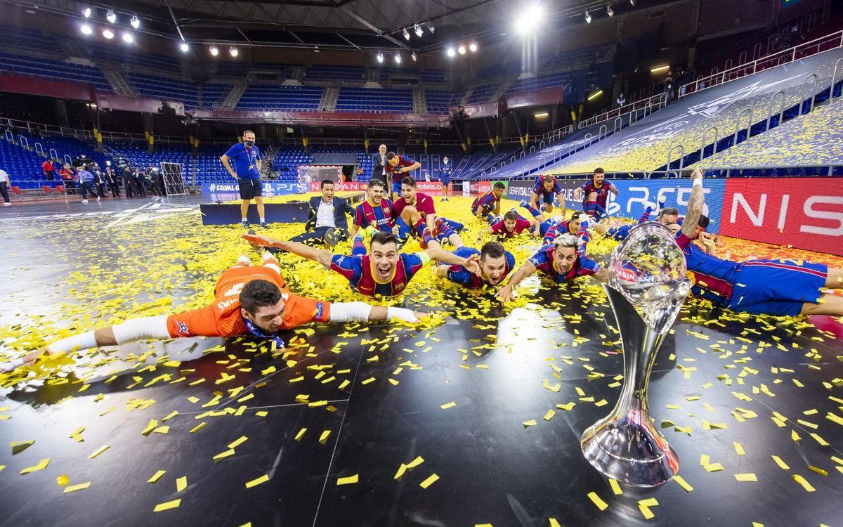 FC Barcelona wins a 41st European Cup