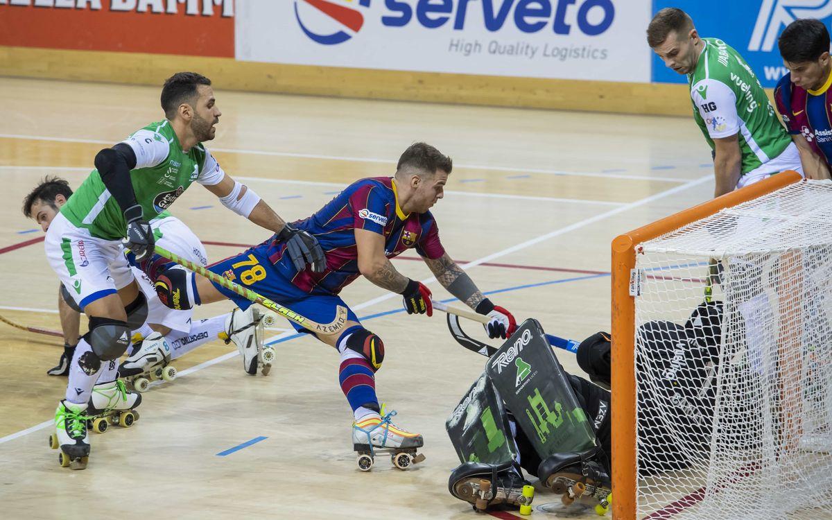 Barça-Liceo: Derrota en un Clásico intenso (3-4)