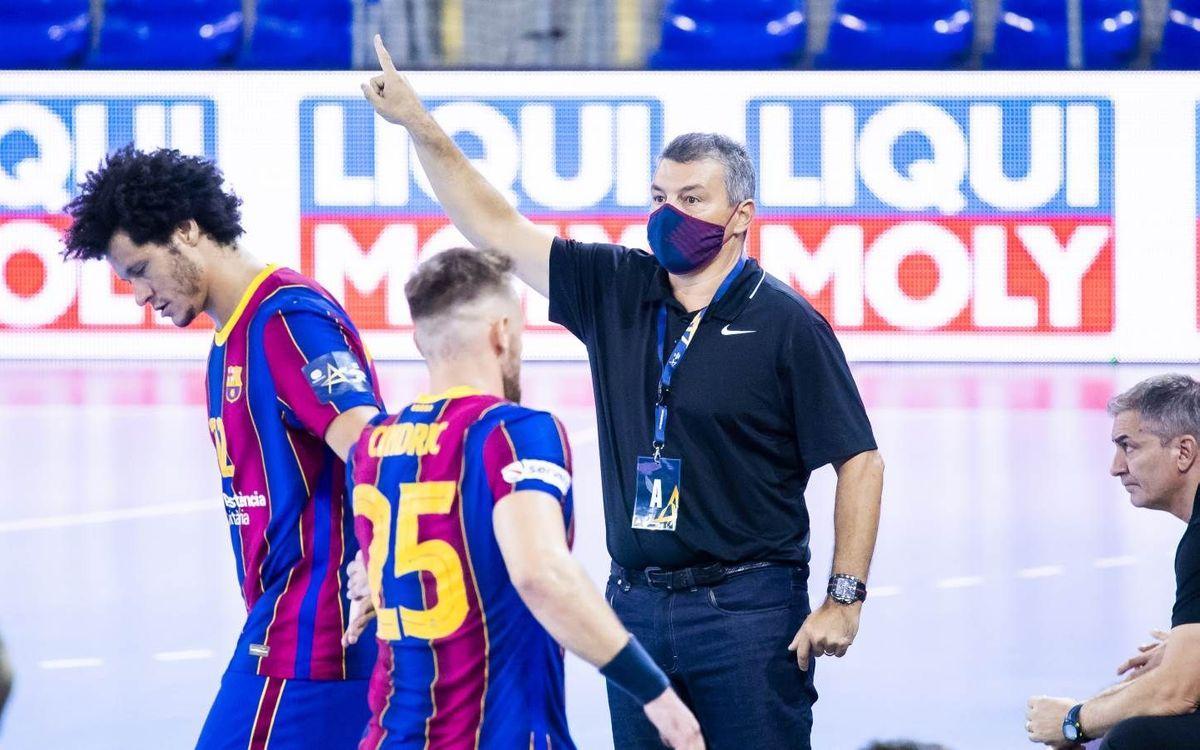 Barça - HC PPD Zagreb: L'acció torna al Palau amb la Champions
