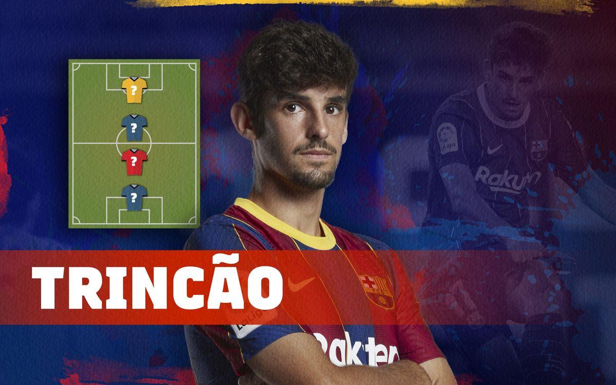 Trincão dévoile son Top 4 de légendes