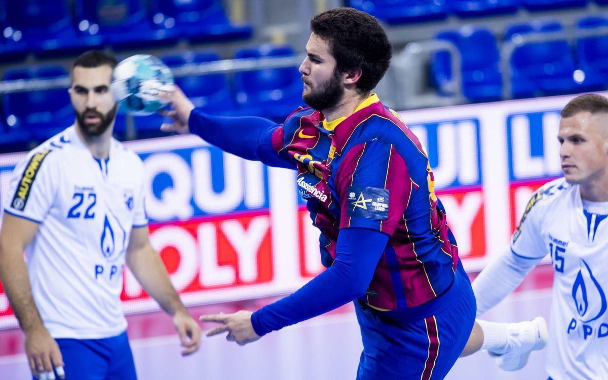 Barça 45-27 HC PPD Zagreb: Still unbeaten in Europe